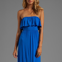 James & Joy Becky Long Dress in Blue from REVOLVEclothing.com