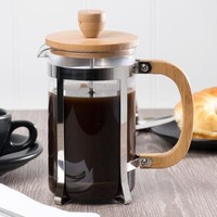 Glass / Wood French Coffee Press