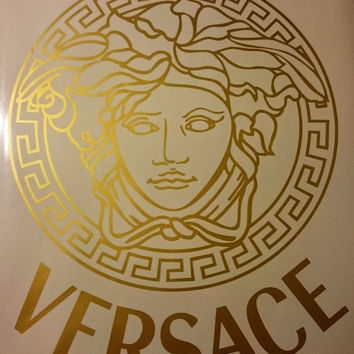 Versace Medusa Decorative Vinyl Wall Sticker Decal