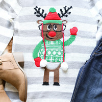 Reindeer Games Christmas Sweater