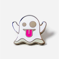 PINTRILL Ghost Pin | Pins + Patches