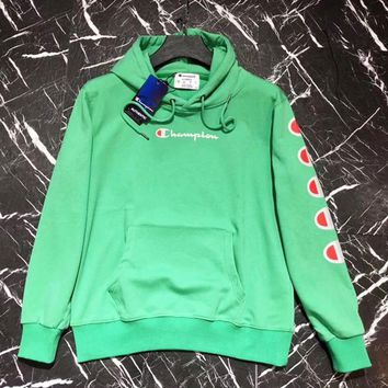 Champion Long Sleeve Hedging Pullover Sweater Hoodies One-nice™