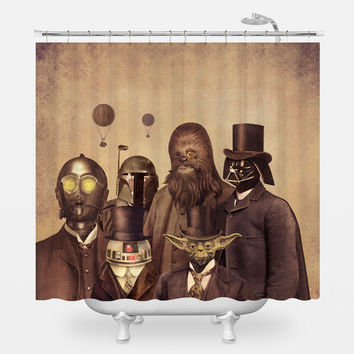 Victorian Wars 2 Shower Curtain