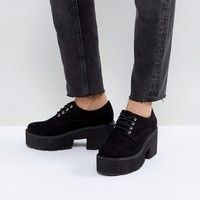 ASOS MEGA Chunky Lace Up Heels at asos.com