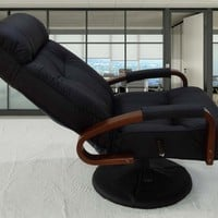 Modern Leather Home Office Leather Chair Reclining Adjustable Computer Chair Office Furniture Executive Office Chair Armchair