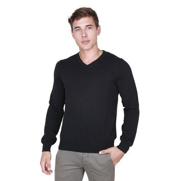 Trussardi Men's Black Long Sleeve Shirt