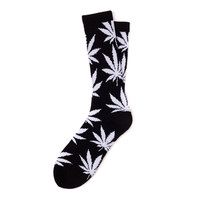 Huf: Plantlife Socks - Black / White (FW14)