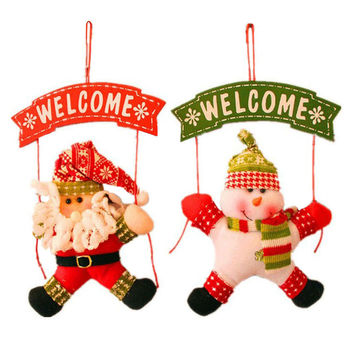 Holiday Door Knob Hanger, Choose from 2 different styles!