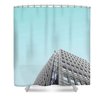 Urban Architecture - Tottenham Court Road, London, United Kingdom - Shower Curtain