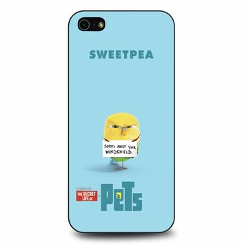 The Secret Life Of Pets Sweetpea Poster iPhone 5/5s/SE Case