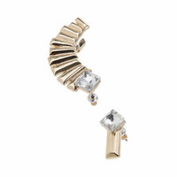 Mix And Match Ear Cuff - Clear