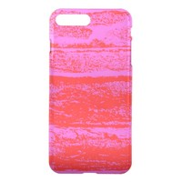 pink-red iPhone 7 plus case