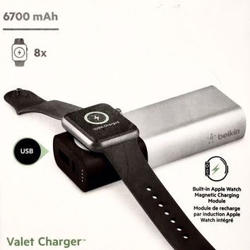 New in Box - Belkin Portable Apple Watch & iPhone Charger for Travel & On the Go