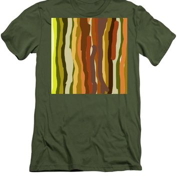 Ooh, You Are Awful ... But I Like You, Abstract Art By Adam Asar - Men's T-Shirt (Athletic Fit)