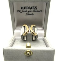 HERMES, superb vintage circa 1980's sterling silver ring