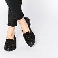 New Look Wide Fit | New Look Wide Fit Fringed Loafer at ASOS