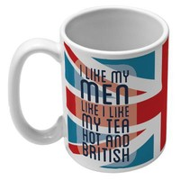 TEA AND HOT BRITISH MEN