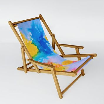 Science Experiment Sling Chair by duckyb