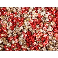 OSU Buckeyes Colored Gourmet Popcorn Cherry Vanilla