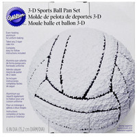 Wilton® 3-D Sports Ball Pan Set