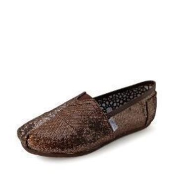 TOMS WOMEN FLAT SHOES FASHION LEISURE LOAFERS 35 40