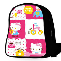 Funny Hello Kitty 2 Backpack