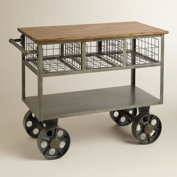 Bryant Mobile Kitchen Cart - World Market