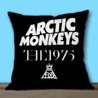 Arctic Monkeys the 1975 The Fall Out Boy on Decorative Pillow Covers