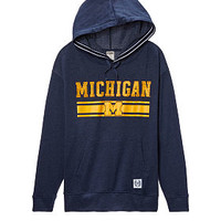 University Of Michigan Game Day Hoodie - PINK - Victoria's Secret