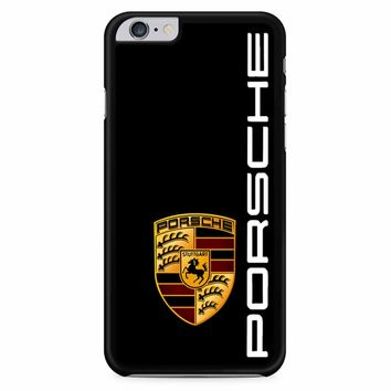 Porsche Logo Black iPhone 6 Plus / 6S Plus Case