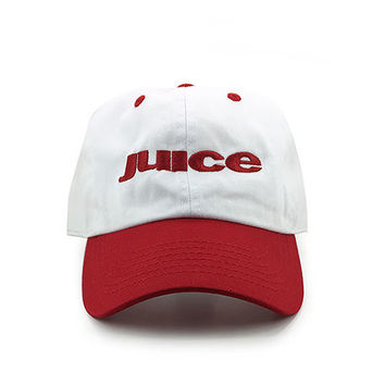 Who Got The Juice? Cap in 2 Tone Red