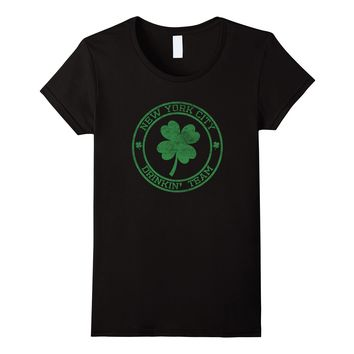 New York City Cute Funny St. Patrick's Day Shirt