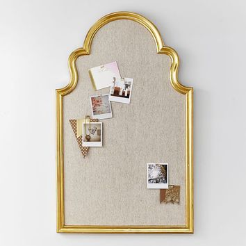 Arch Pinboard, Gold