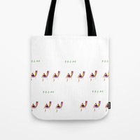 Remember to RELAX Tote Bag by Lucine