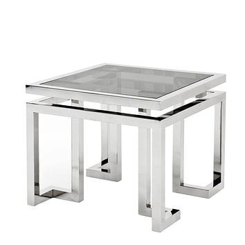 Square Silver Side Table | Eichholtz Palmer