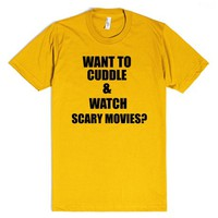 Want to Cuddle and Watch Scary Movies