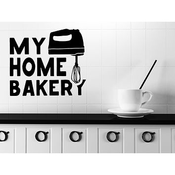 Wall Vinyl Decal Quote Words Kitchen Tools Home Bakery Decor Decor Unique Gift (n1140)