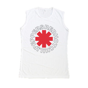 Red Hot Chili Peppers Muscle Tank Top Tee Shirt Women Shirts Size S M L