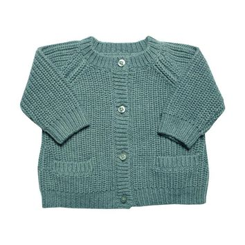 La Petite Collection Blue Cardigan
