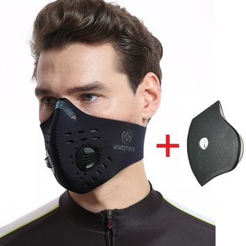 XINTOWN Cycling Mask Activated Carbon Dustproof Ski Mask Bicycle Bike Running Jogging Hiking Sawmiling Mowing Mask Bandana Scarf
