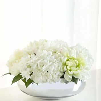 John-Richard Collection Silverpointe Floral Arrangement | Neiman Marcus