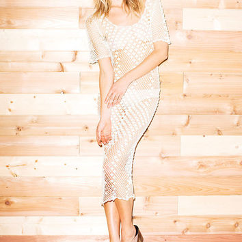Parker Dress - Ivory | Stone Cold Fox