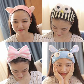 1PC Quality Women Cute Magic Headband Fashion Girls Hair Rope Wide Elastic Hair Bands Wigs Bandanas Headwear Hair Accessories