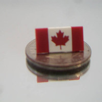 Canadian Flag Tie Tack Pin Flag of Canada Maple Leaf Unisex Jewelry Accessories
