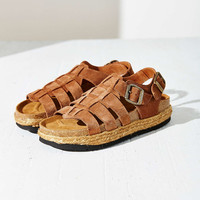 Jeffrey Campbell X UO Suede Rayanne Sandal - Urban Outfitters