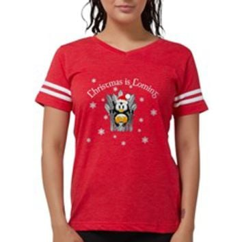 Game of Thrones Cute Penguin Womens Football Shirt> Game of Thrones Cute Penguin Holiday> Scarebaby Design