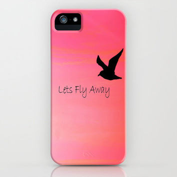 Lets Fly Away iPhone Case by Veronica Ventress | Society6