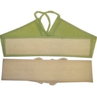 Swissco Loofah & Terry Back Scrubber (Assorted Color Green OR Beige)