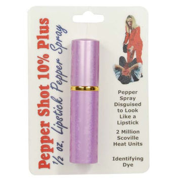 Pepper Shot Lipstick Pepper Spray Lavender