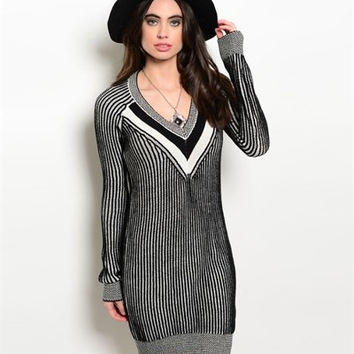 The Pinny Sweater Dress